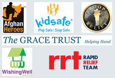Various charities we support