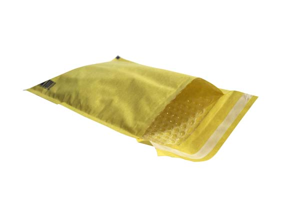 A Bubble Lined Mailers Envelopes Light Weight Gold