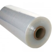 Clear machine pallet wrap rolls