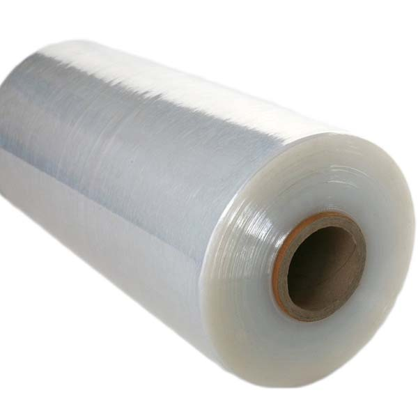 Clear machine pallet wrap rolls