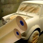 900mm Spray Masking Paper Auto Spraying
