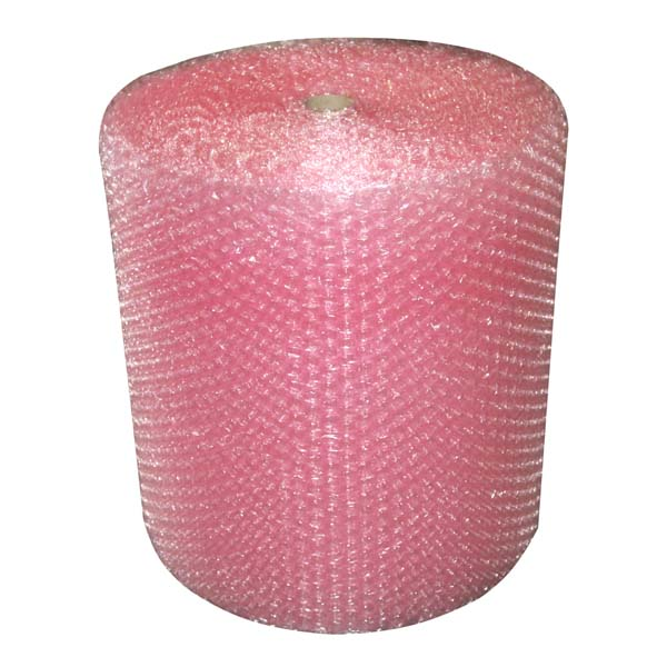 750mm Large Pink Anti Static Bubble Wrap