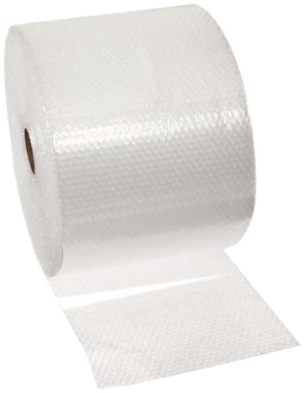 Small Clear Bubble Wrap 300mm x 50mtr Removal Roll