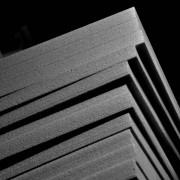 Black Stratocell Sheets 600mm x 900mm x 50mm Ethafoam