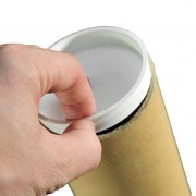 3 inch Plastic Postal Tube End Caps Plugs