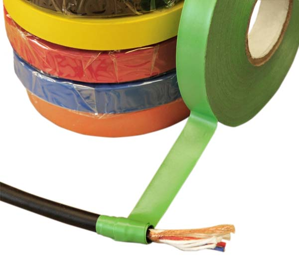25 mm Green PVC Electrical Insulation Tape