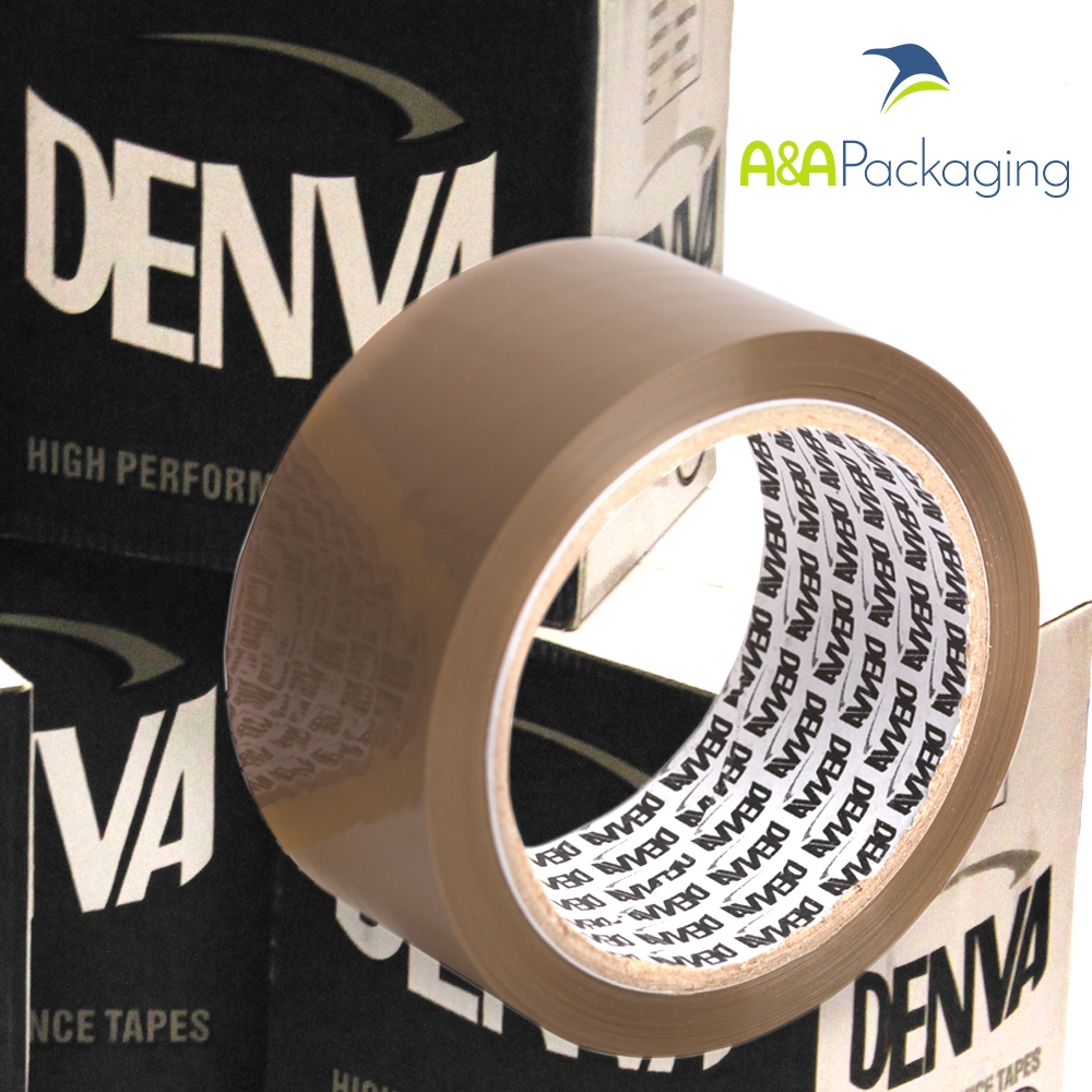 Brown PP Acrylic Packing Tape 48mm x 66mtr
