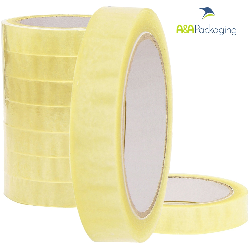 Clear PP Packing Tape 25mm x 66mtr
