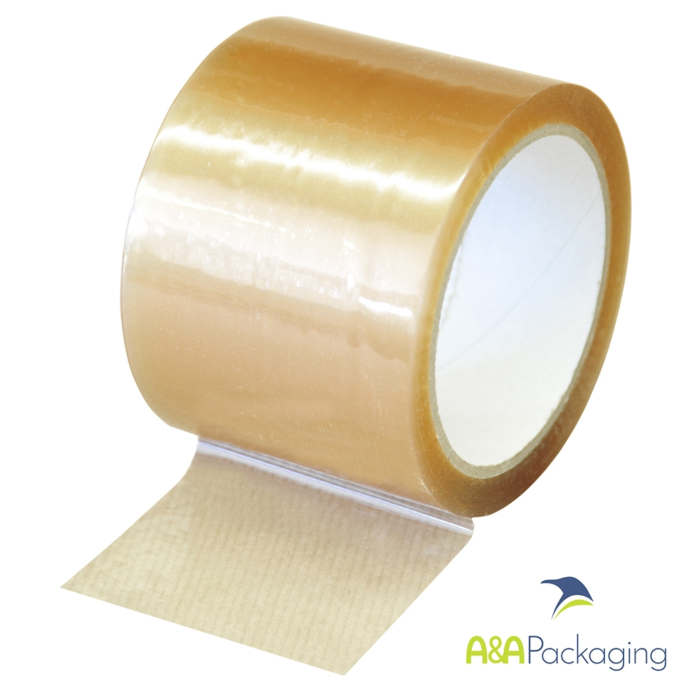 Clear PP Packing Tape 75mm x 66mtr