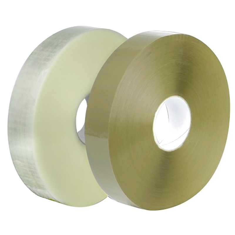 Machine Tape Clear Polypropylene Hot Melt