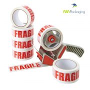 Tape Printed Fragile QPP 48mm x 66mtr