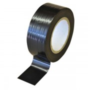75mm Low Tack Protection Polythene Tape Black