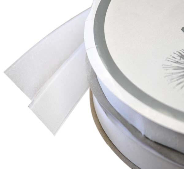 White Hook Fastening Tape 25mm x 25mtr