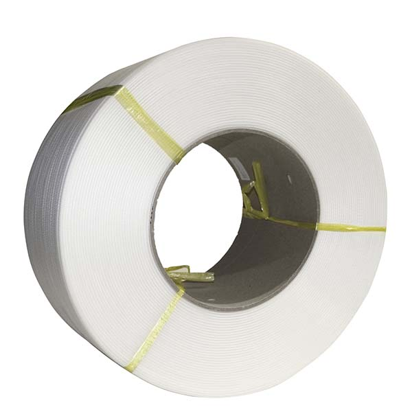 SWH9 White Polypropylene Machine Strapping