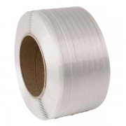 65AT White Polyester Strapping