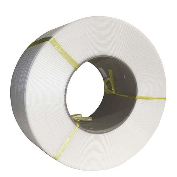 SWS12 White Polypropylene Machine Strapping