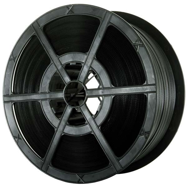PR180 Black Polypropylene Plastic Strapping