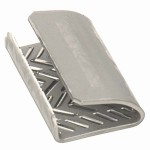 12 x 32mm Serrated Seals for Poly Strapping