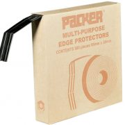 Plastic Edge Protector Black 66mm x 38mm
