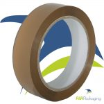 Buff Vinyl Solvent Adhesive Tape 25mm x 66mtr