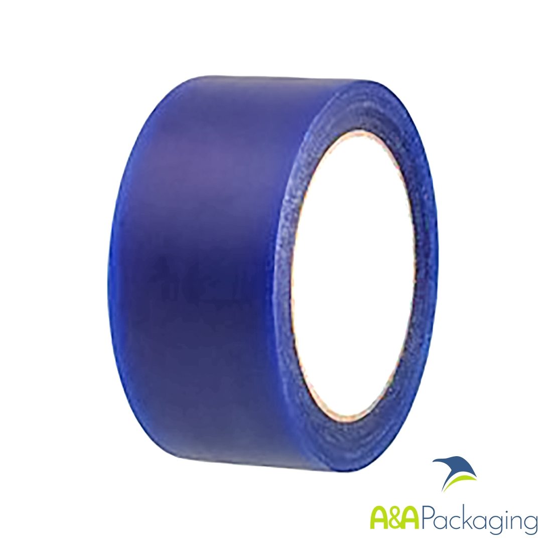 38mm Low Tack Protection Polythene Tape Blue