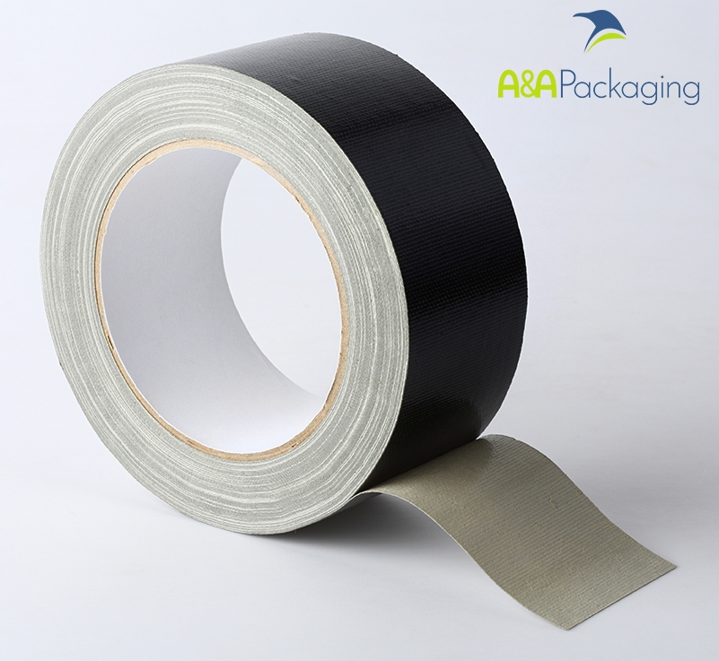 25mm Waterproof Cloth Tape Black