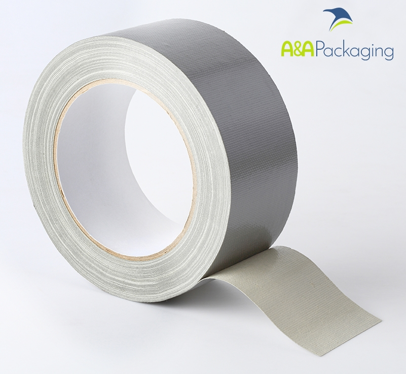 75mm Waterproof Cloth Tape Silver
