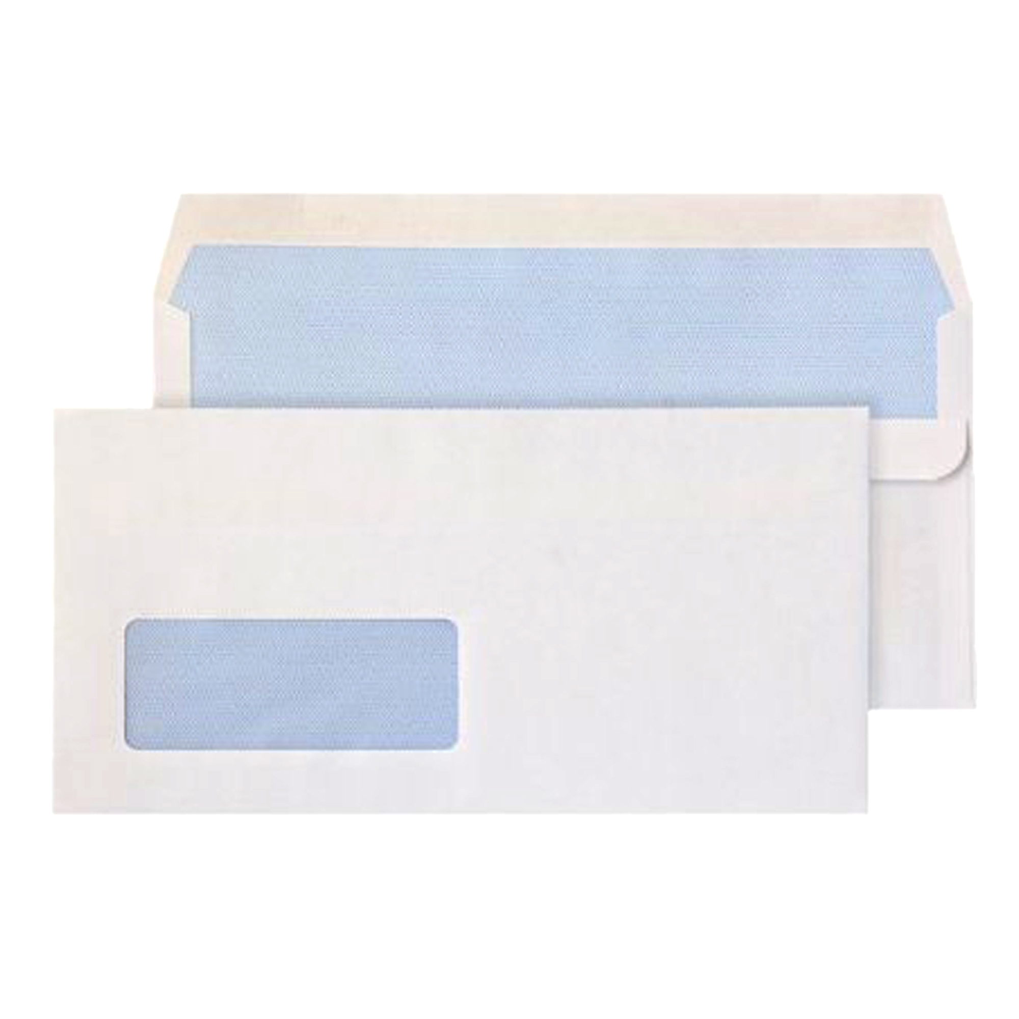 DL Window White Premium Business Envelopes