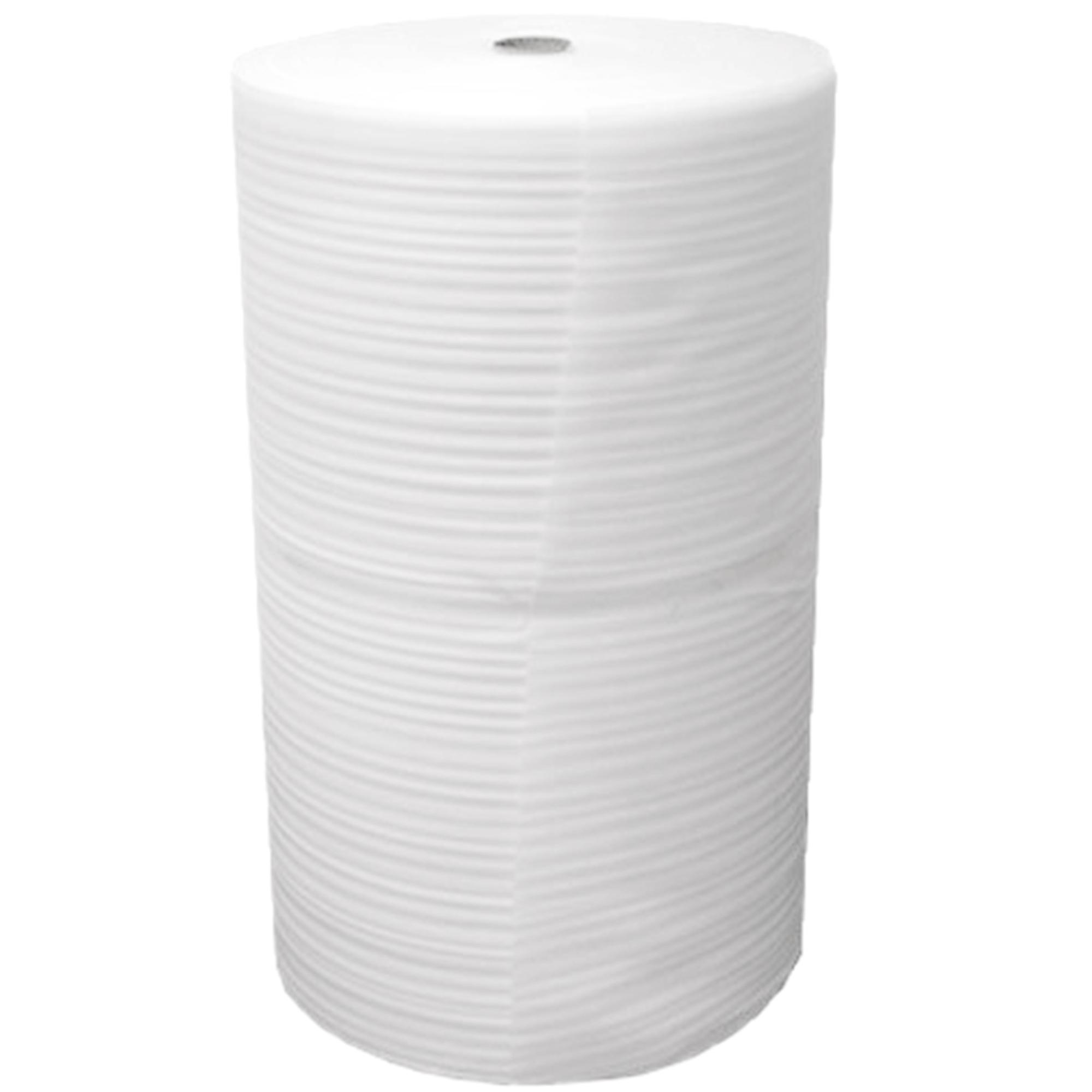 White Foam Roll 750mm x 1mm x 300mtr