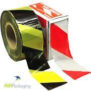 Polythene Hazard Barrier Tape 75mm