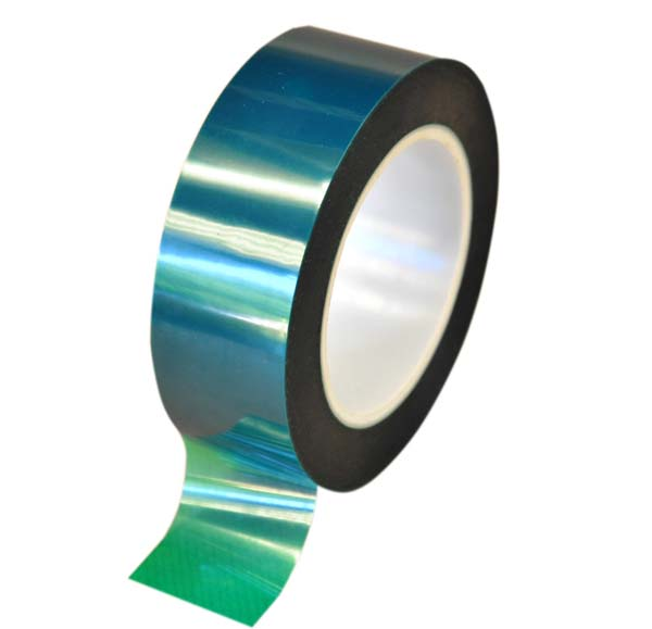 Hi Temp Green polyester tape 200°C 40mm x 66mtr