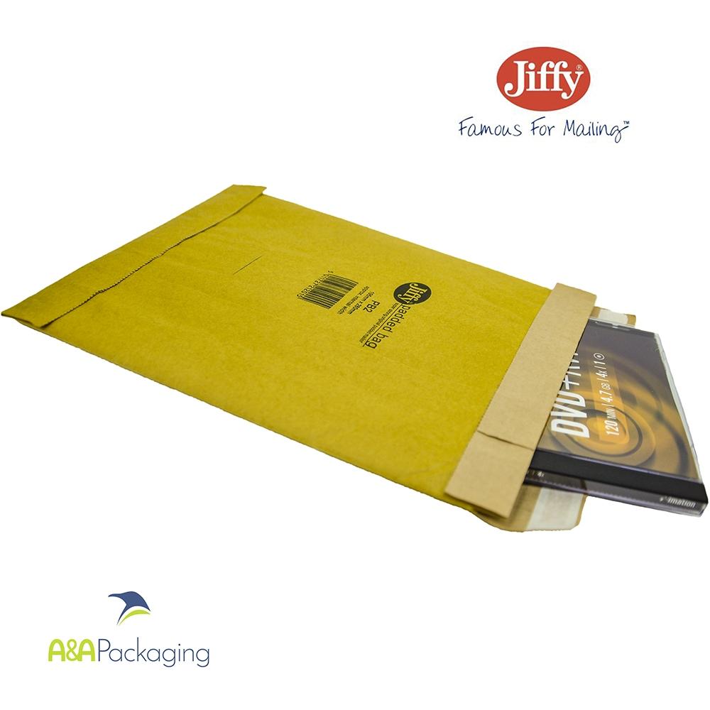Jiffy PB2 Heavy Duty Padded Mailing Bags