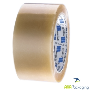 Clear PP Solvent Packing Tape 48mm x 66mtr