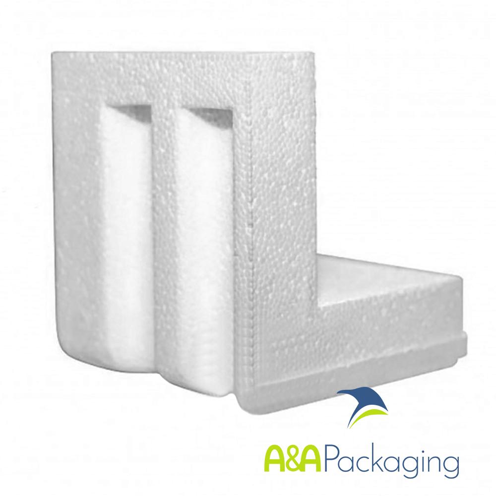 Polystyrene Corner Protector 88 x 88 x 88mm