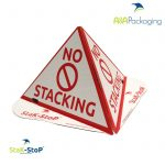 No Stacking Cones StaK-StoP 'No Stacking' Die Cut