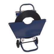 Mobile Trolley For Ribbon Wound Banding