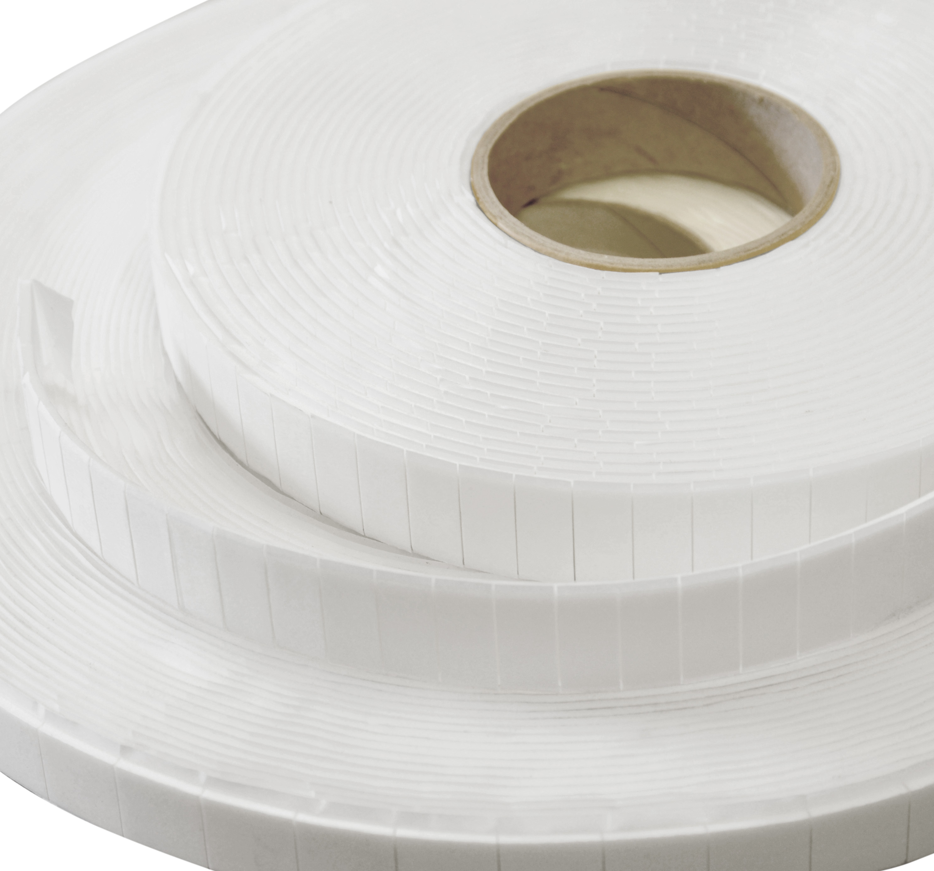 White Adhesive Foam Pads Double Sided 20mm x 20mm