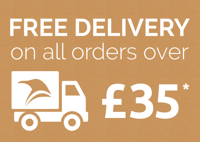Free delivery on all orders over £35*