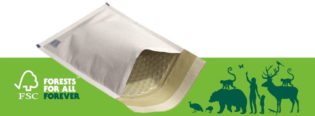 100% Recyclable Bubble Lined Mailers