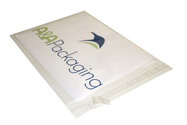 C4 Toptac Polythene Mailing Bags Clear