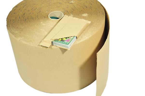 Cushion Wrap Self Adhesive Cardboard Rolls 450mm