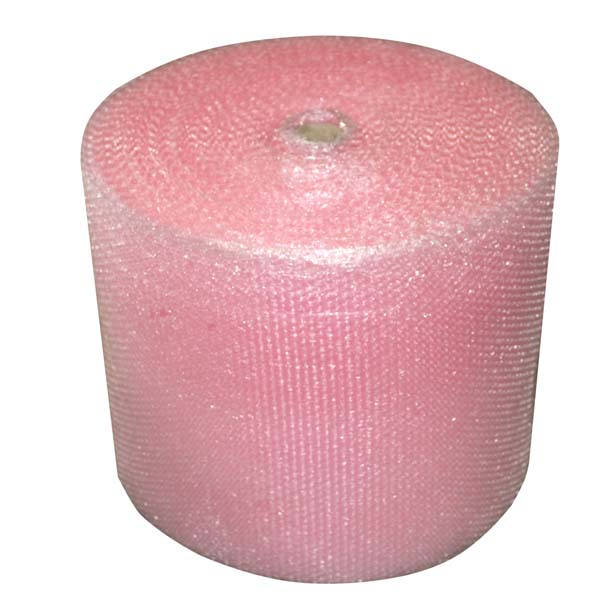 300mm Small Pink Anti Static Bubble Wrap