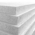 1200mm x 2400mm x 50mm White Polystyrene Sheets