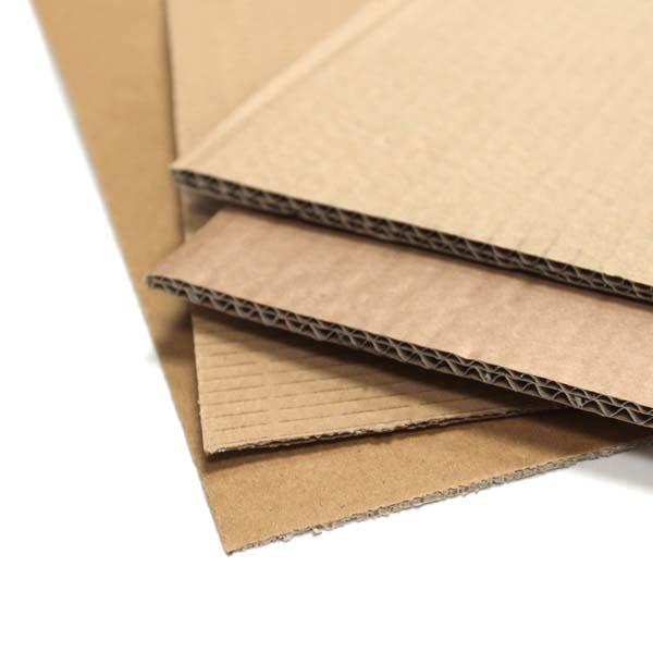 Double Wall Cardboard Sheets 1330 x 2250mm