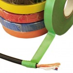 12 mm Black PVC Electrical Insulation Tape