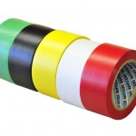 Red PVC Lane Marking Tape 48mm x 33mtr