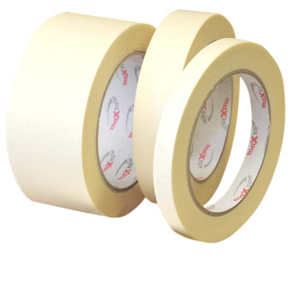 White General Purpose Masking Tape 12mm x 50mtr