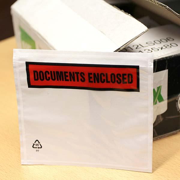 DL Document Enclosed Envelope Wallets