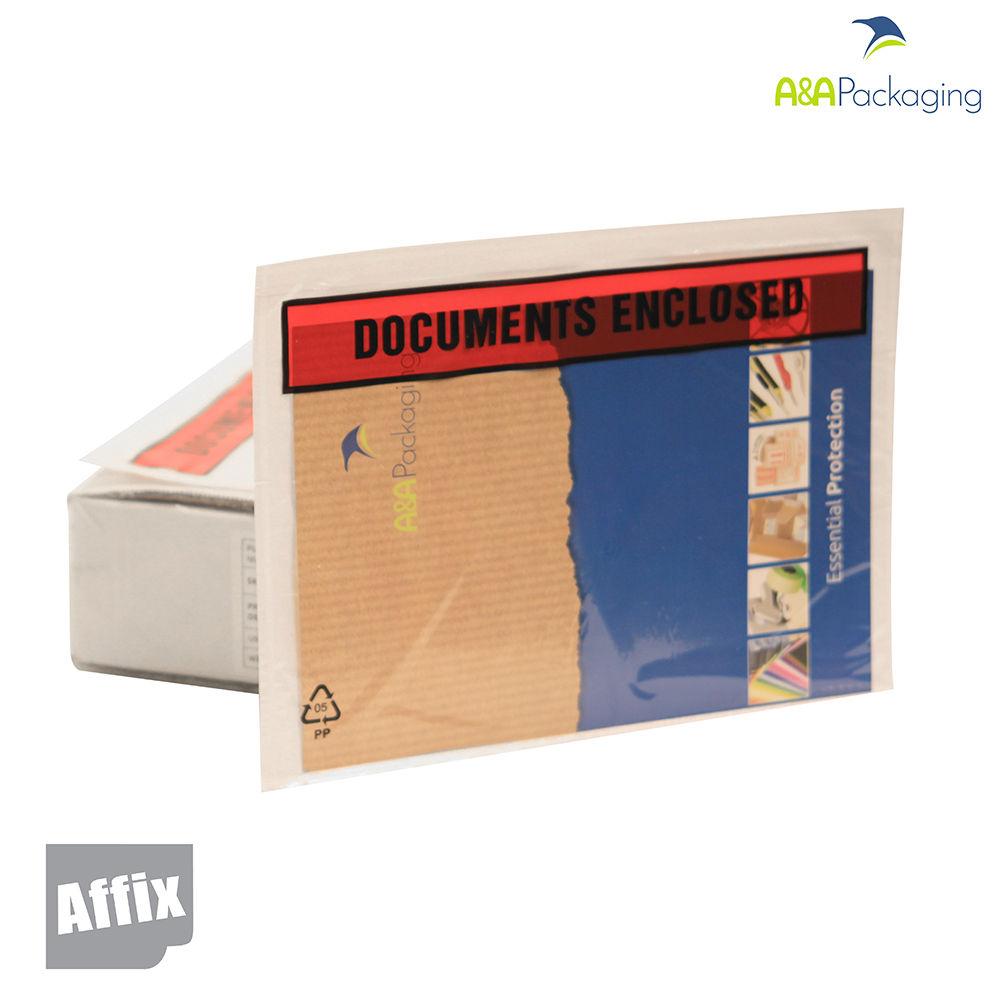 A4 Document Enclosed Envelope Wallets
