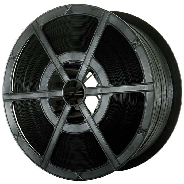PR130 Black Polypropylene Plastic Strapping